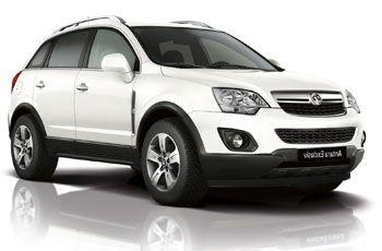Photo de la Opel Antara neuve