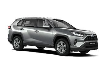 Photo de la Toyota Rav4 neuve
