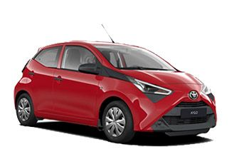 Photo de la Toyota Aygo neuve
