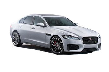 Photo de la Jaguar XF neuve