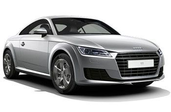 Photo de la Audi TTS neuve