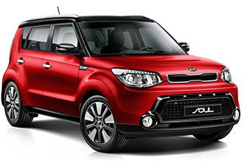 Photo de la Kia Soul neuve