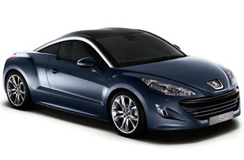 Photo de la Peugeot RCZ neuve