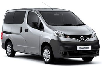 Photo de la Nissan NV200 neuve