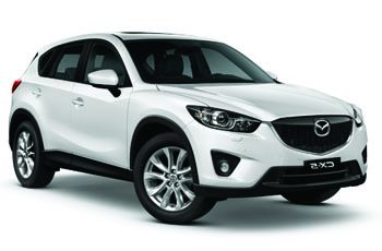 Photo de la Mazda CX-5 neuve