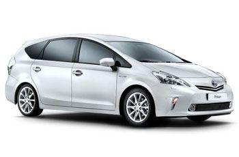 Photo de la Toyota Prius+ neuve