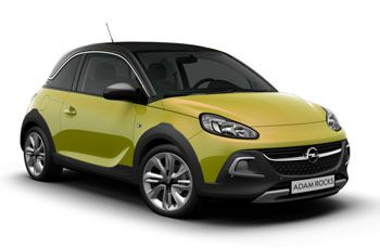 Photo de la Opel Adam neuve