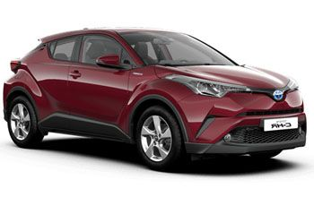 Photo de la Toyota C-HR neuve