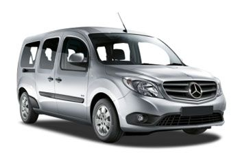 Photo de la Mercedes Citan neuve