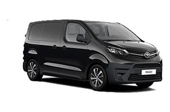 Photo de la Toyota ProAce neuve