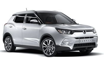 Photo de la Ssangyong Tivoli neuve