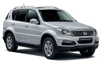 Photo de la Ssangyong Rexton neuve