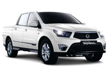 Photo de la Ssangyong Actyon Sports neuve