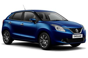 Photo de la Suzuki Baleno neuve
