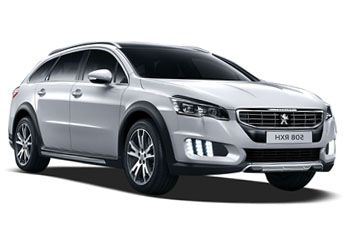Photo de la Peugeot 508 RXH neuve