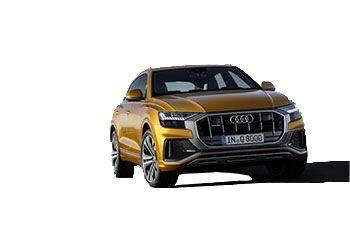 Photo de la Audi Q8 neuve