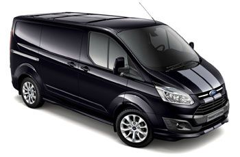 Photo de la Ford Transit neuve
