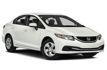 Photo de la Honda Civic neuve