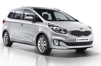 Photo de la Kia Carens neuve