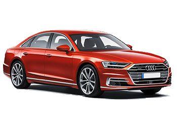 Photo de la Audi A8 neuve