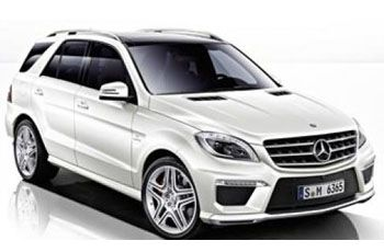 Photo de la Mercedes Classe ML neuve