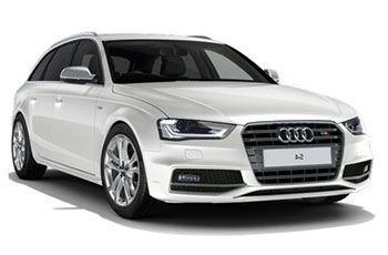 Photo de la Audi S4 neuve