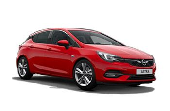 Photo de la Opel Astra neuve