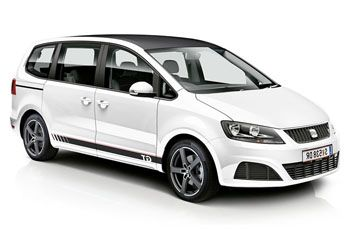 Photo de la Seat Alhambra neuve