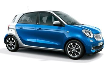 Photo de la Smart ForFour neuve