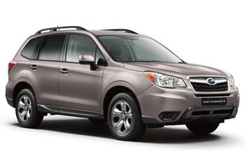 Photo de la Subaru Forester neuve