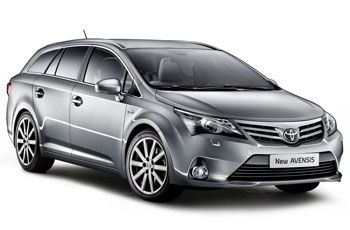 Photo de la Toyota Avensis neuve