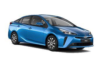 Photo de la Toyota Prius neuve