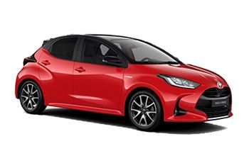 Photo de la Toyota Yaris neuve